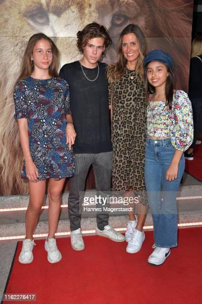 "Lotta Lehmann, Mats Lehmann, Conny Lehmann and Vally Obereder attend the Family and Friends screening Of ""Der Koenig Der Loewen"" at Arri Kino on July..."