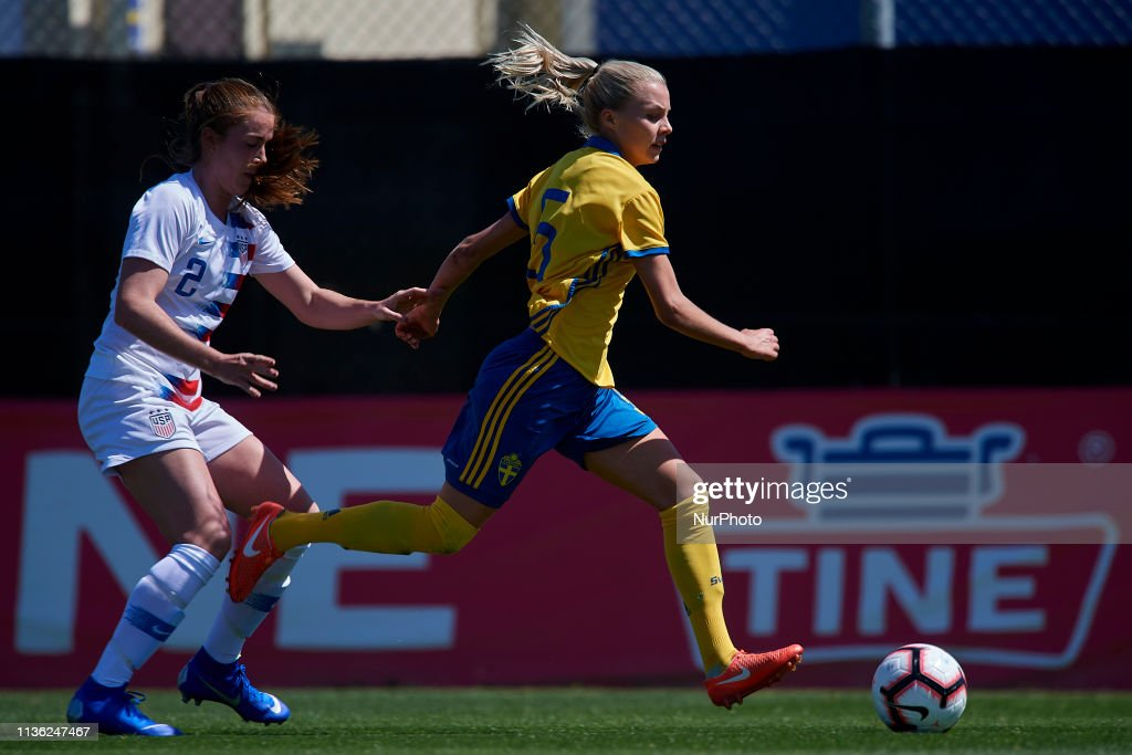 Sweden v USA - Women's U23 International Friendly : News Photo
