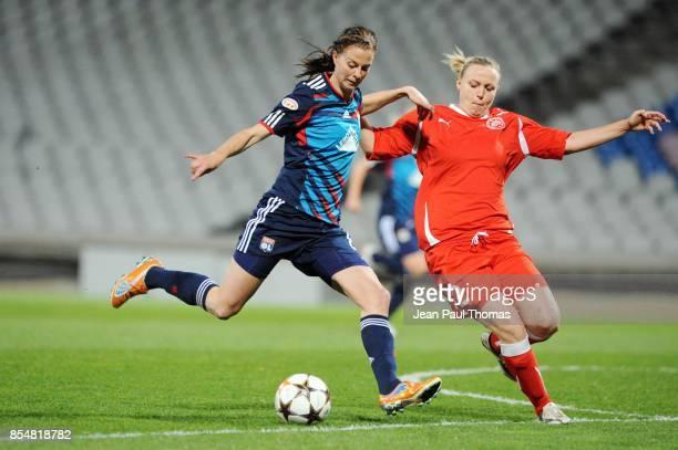 Lotta SCHELIN Lyon / Zvezda 2005 Perm 1/4 Finale Retour de la Ligue des Champions 2010/2011 Lyon