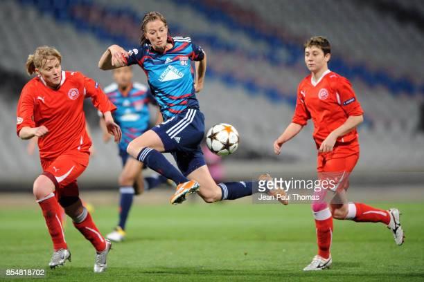 Lotta SCHELLIN Lyon / Zvezda 2005 Perm 1/4 Finale Retour de la Ligue des Champions 2010/2011 Lyon