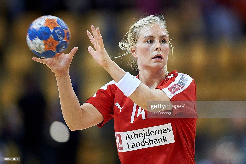 Denmark vs Turkey - EHF EURO 2016 Womens Qualifier : News Photo