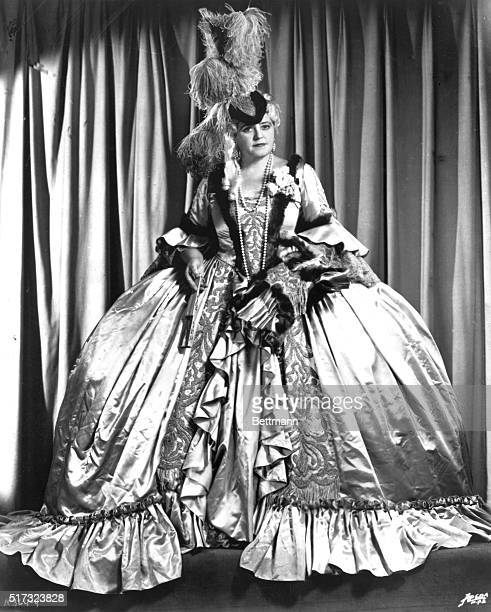 Lotte Leham as Marschalin in Strauss' Rosenkavalier.