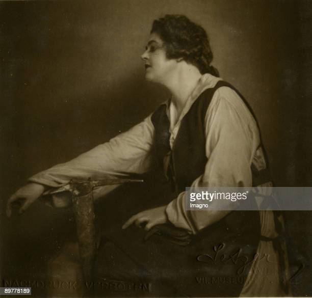 "Lotte Lehmann as Leonore in ""Fidelio"" by Ludwig van Beethoven. Vienna State Opera. Photograph. 1927"