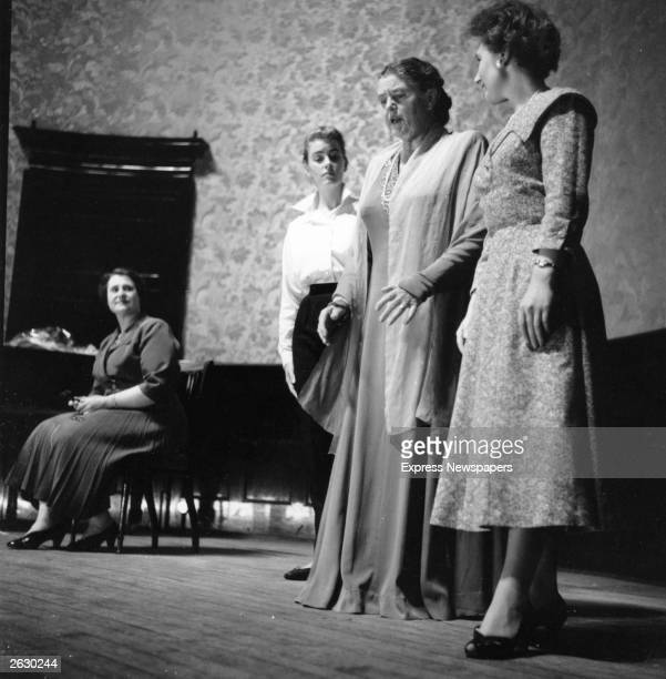 Lotte Lehmann, the German soprano rehearsing. Original Publication: People Disc - HG0211