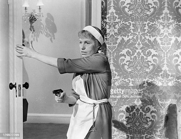 Lotte Lenya in a scene from the film 'From Russia With Love' 1964
