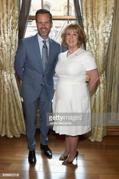 Lotte NYC and Company CEO/President Fred Dixon and General Manager Lotte New York Palace Becky Hubbard attend the 2017 Lotte New York Palace...