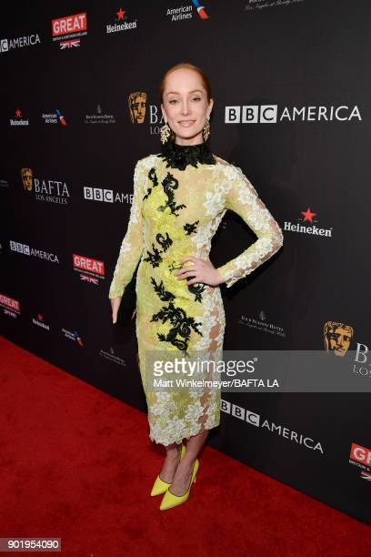 Lotte Verbeek attends The BAFTA Los Angeles Tea Party at Four Seasons Hotel Los Angeles at Beverly Hills on January 6 2018 in Los Angeles California