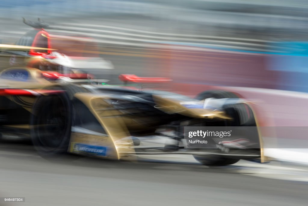 A. Lotterer of Techeetha Racing during Rome E-Prix Round 7 as part of the ABB FIA Formula E Championship on April 14, 2018 in Rome, Italy.