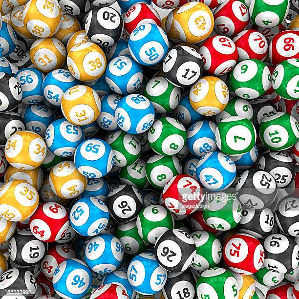 lottery balls - jackpot stock pictures, royalty-free photos & images