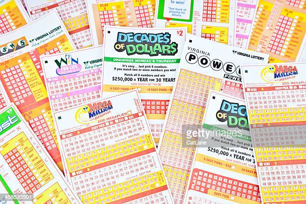 lottery entry tickets - lucky draw stock photos and pictures