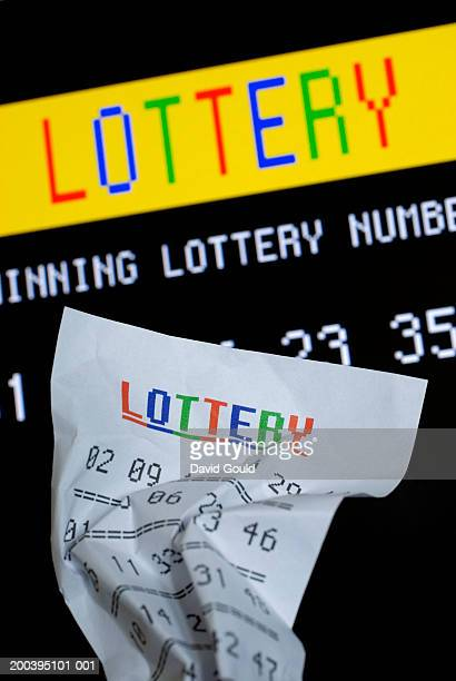 Lottery ticket by results