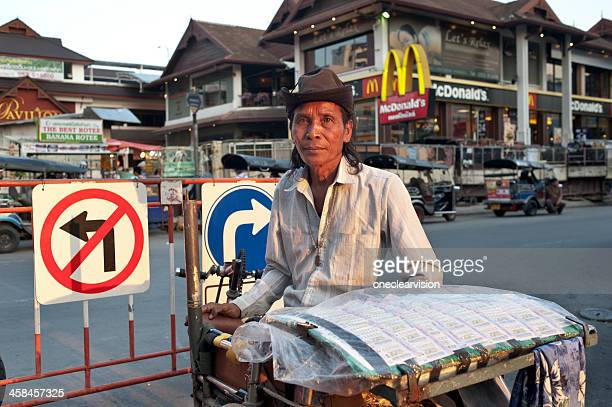 Lottery Ticket Seller in Chiang Mai