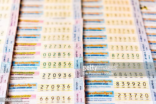 Lottery Tickets Stock Photo - Getty Images