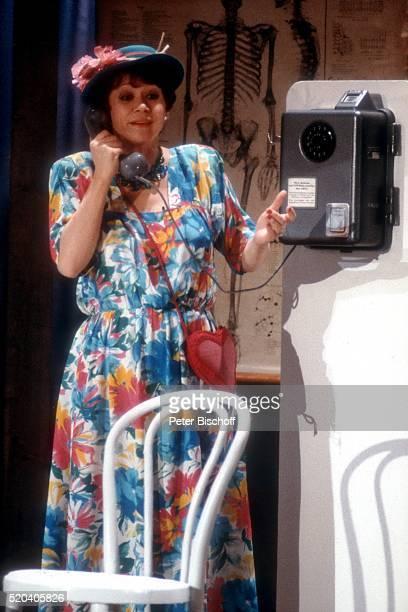 Lotti Krekel ARDShow Die Superlachparade 1988 am in Deutschland