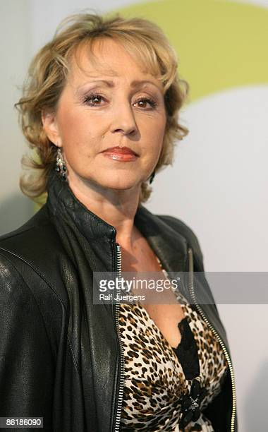 Lotti Krekel attends 'WDR Treff' on April 23 2009 in Cologne Germany