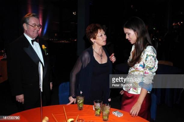 """Lotti Krekel-Hilbich, Ehemann Ernst Hilbich, Katja Woywood , ZDF-Gala """"Deutscher Fernsehpreis"""" , Aftershow-Party, Köln, , """"Coloneum"""", Schauspielerin,..."""