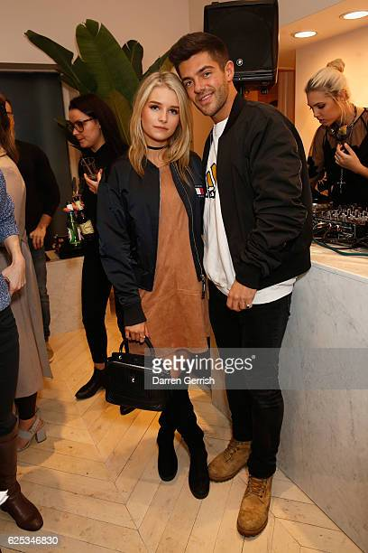 Lottie Moss and Alex Mytton attend The Dayrooms Launch Party on November 23 2016 in London England