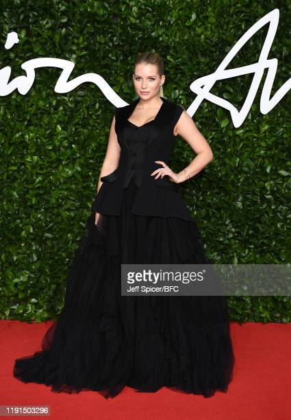 Lottie Moss arrives at The Fashion Awards 2019 held at Royal Albert Hall on December 02 2019 in London England