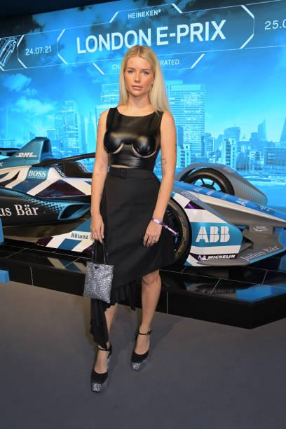 GBR: Celebrities Attend Day Two Of The ABB FIA Formula E Heineken London E-Prix