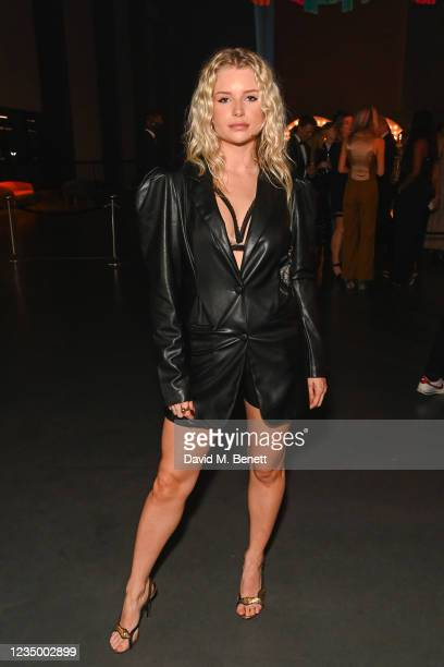 Lottie Moss attends the 24th GQ Men of the Year Awards in association with BOSS at Tate Modern on September 1, 2021 in London, England.