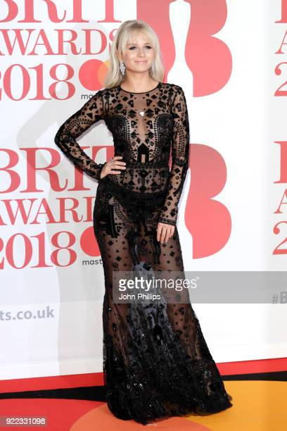 AWARDS 2018*** Lottie Moss attends The BRIT Awards 2018 held at The O2 Arena on February 21 2018 in London England