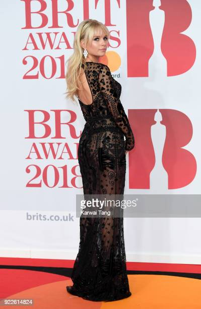 AWARDS 2018 *** Lottie Moss attends The BRIT Awards 2018 held at The O2 Arena on February 21 2018 in London England