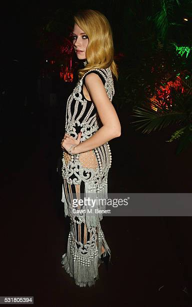 Lottie Moss attends the Chopard Wild Party during the 69th Annual Cannes Film Festival at Port Canto on May 16 2016 in Cannes