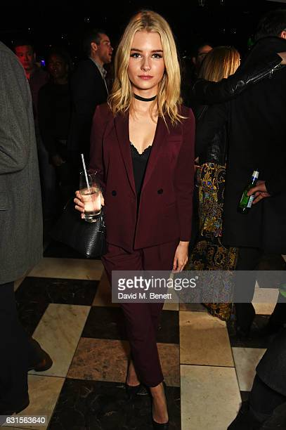 Lottie Moss attends the launch of Bunga Bunga in Covent Garden on January 12 2017 in London England