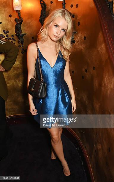 Lottie Moss attends the LOVE Magazine and Marc Jacobs LFW Party to celebrate LOVE 165 collector's issue of LOVE and Berlin 1989 at Loulou's on...