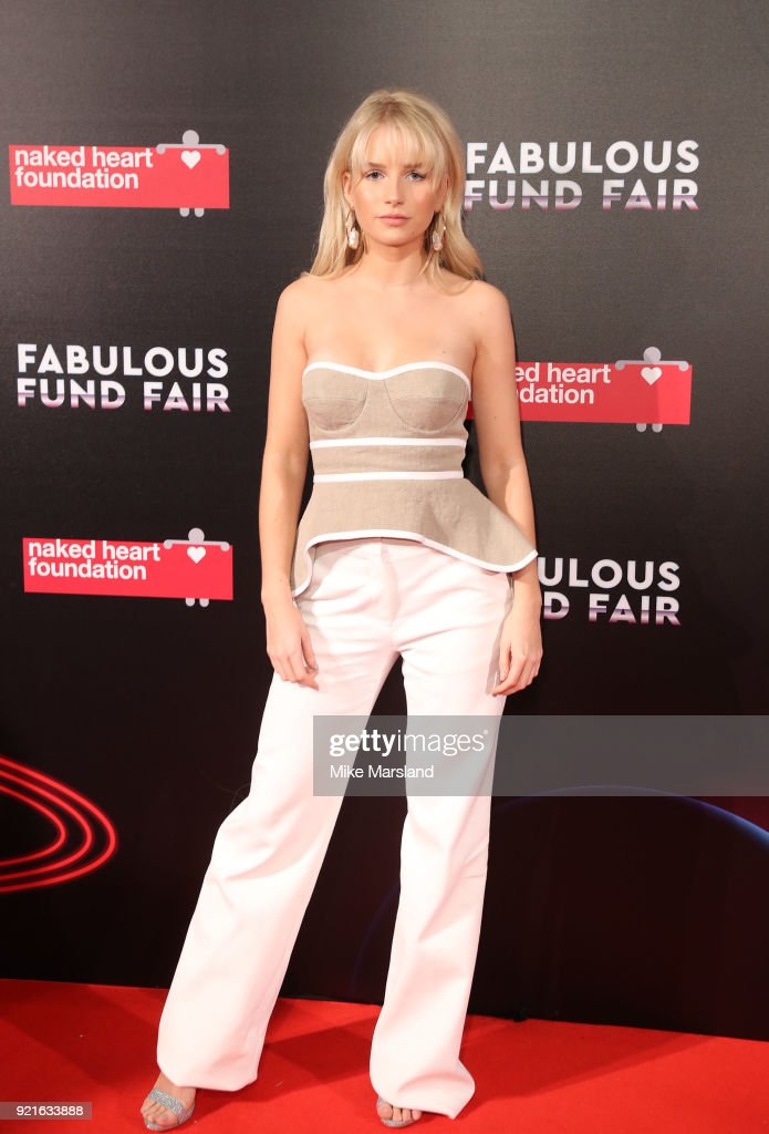 Naked Heart Foundation's Fabulous Fund Fair - LFW February 2018 : Foto di attualità