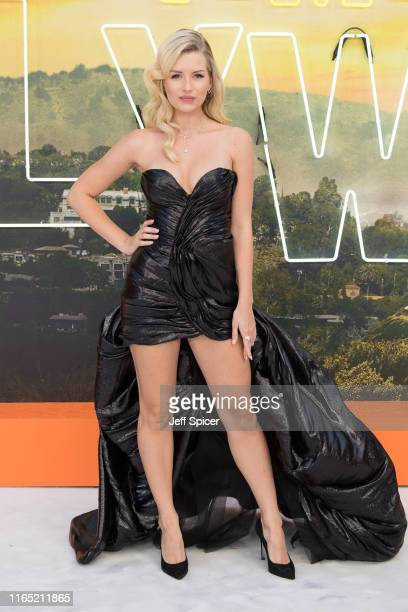 "Lottie Moss attends the ""Once Upon a Time... In Hollywood"" UK Premiere at Odeon Luxe Leicester Square on July 30, 2019 in London, England."