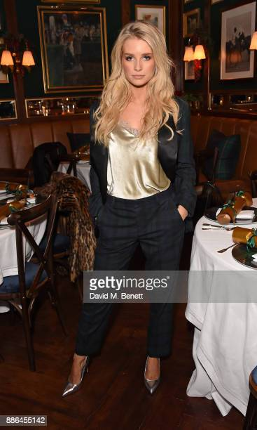 Lottie Moss attends the Polo Bear Holiday Dinner hosted by Polo Ralph Lauren and Alexandra Richards at Ralph's Coffee Bar on December 5 2017 in...