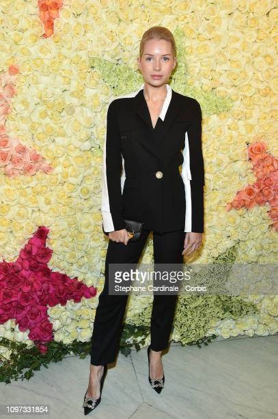 Lottie Moss attends the Schiaparelli Haute Couture Spring Summer 2019 show as part of Paris Fashion Week on January 21 2019 in Paris France