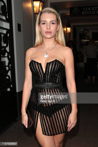 Lottie Moss seen attending The ELLE List event at The Petersham Restaurant on June 19 2019 in London England