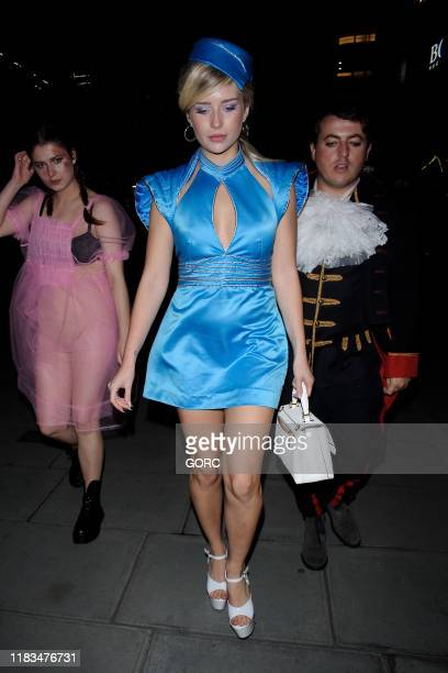 Lottie Moss seen attending the HallowZeem event at M Restaurant in Victoria on October 25 2019 in London England