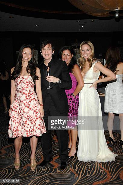 Lottie Oakley guest Connie Anne Phillips and Annie Taube attend NEW YORKERS FOR CHILDREN Spring Gala 'A Fool's Fete' Presented By MISSONI at Mandarin...