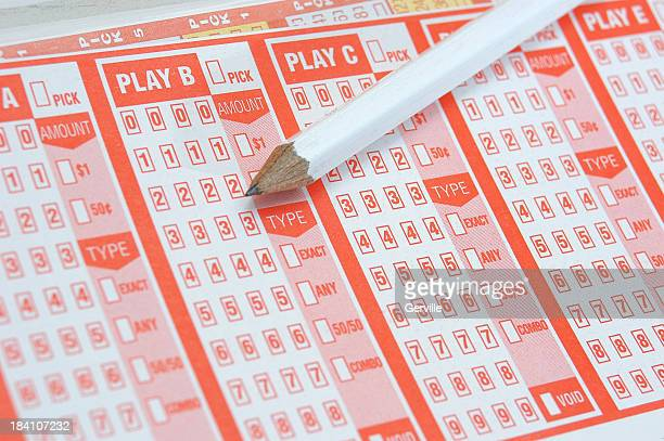 lotto - lotterytickets stock pictures, royalty-free photos & images