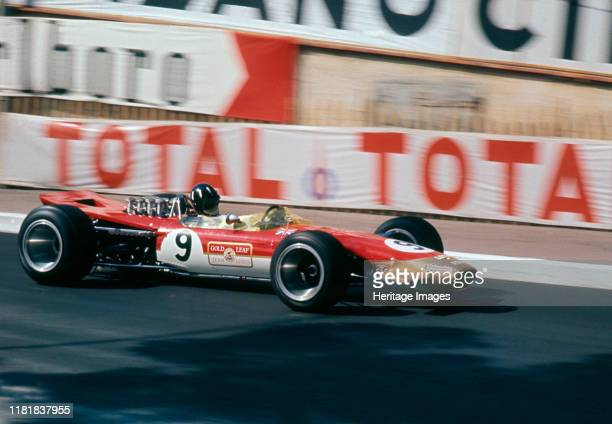 Lotus 49 Gold Leaf driven by Graham Hill at the 1968 Monaco Grand Prix Creator Unknown