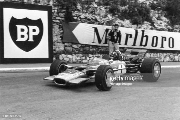 Lotus 49b, Graham Hill, Monaco Grand Prix. Creator: Unknown.