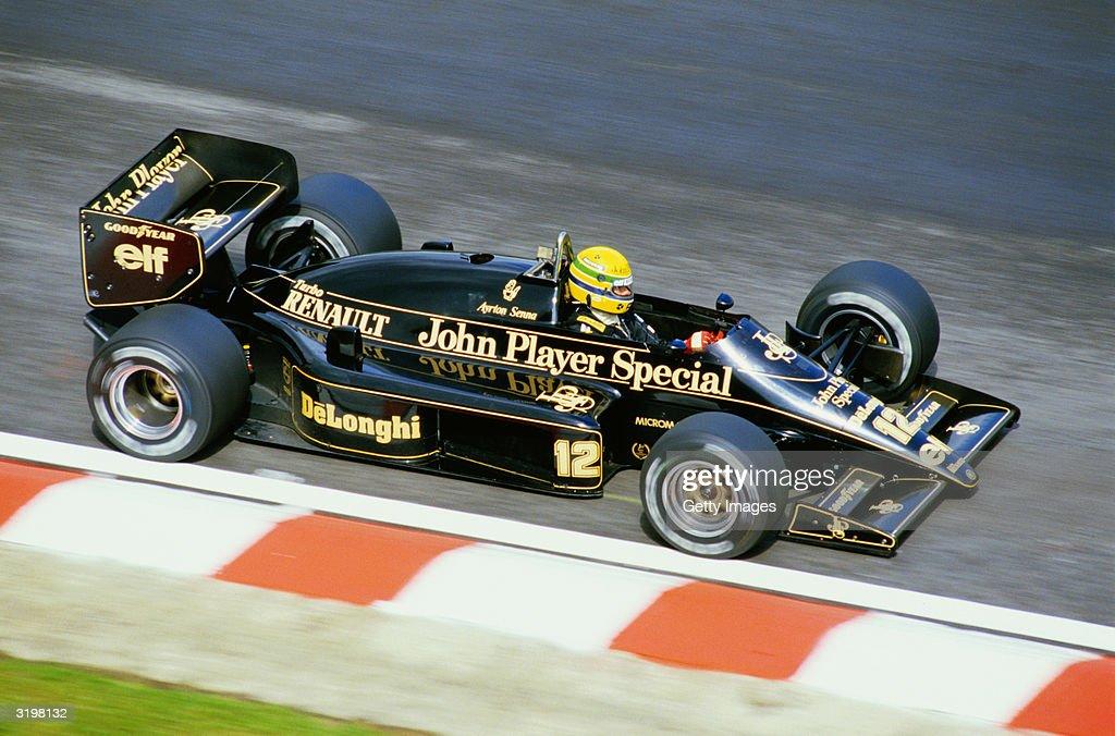 1986 F1 Belgian Grand Prix : News Photo