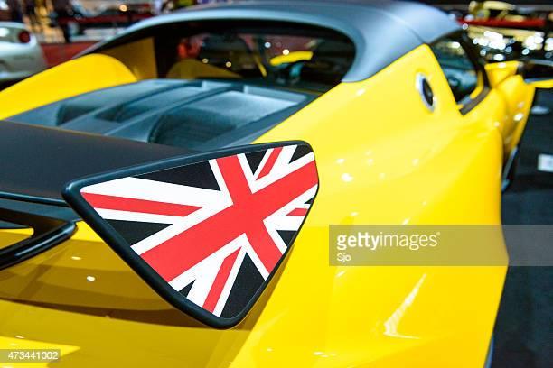 Lotus Elise 220 Cup race car rear spoiler detail