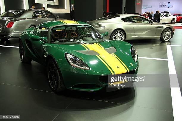 Lotus Elise on the motor show