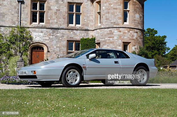 Lotus Esprit at Palace House Beaulieu. Artist Unknown.