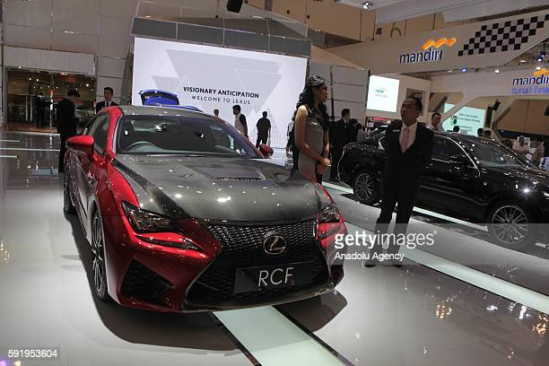 Lotus RCF vehicle is seen at the Indonesia International Auto Show in Tangerang near Jakarta Indonesia August 19 2016