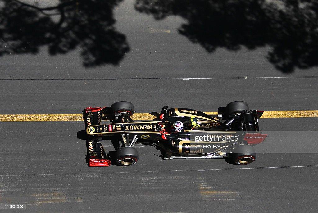 Lotus Renault GP's Russian driver Vitaly : News Photo