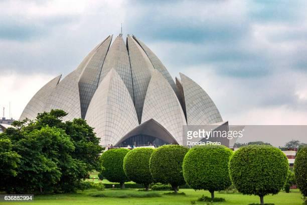 Lotus temple, New Delhi, India, Asia