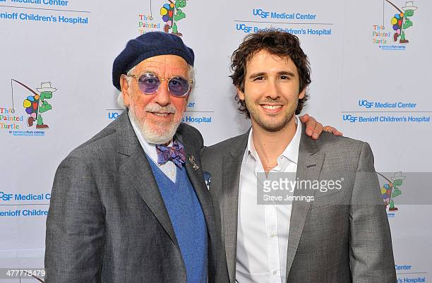 Lou Adler and Josh Groban attend the UCSF Medical Center and The Painted Turtle Present A Starry Evening of Music Comedy Surprises at Davies Symphony...