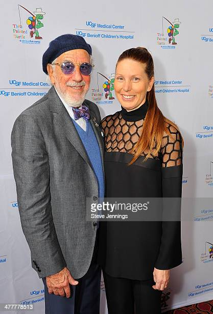 Lou Adler and Page Adler attend the UCSF Medical Center and The Painted Turtle Present A Starry Evening of Music Comedy Surprises at Davies Symphony...