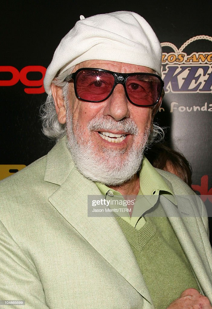 Lou Adler during The 3rd Annual Lakers Casino Night - Arrivals at Barker Hangar in Santa Monica, California, United States.