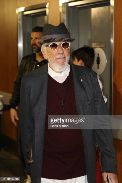 Lou Adler is seen during the NBA AllStar Game as a part of 2018 NBA AllStar Weekend at STAPLES Center on February 18 2018 in Los Angeles California...